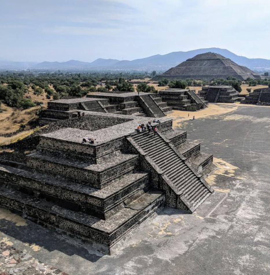 Pyramide Aztèque