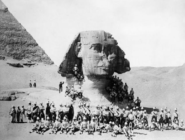 Photo ancienne du Sphinx