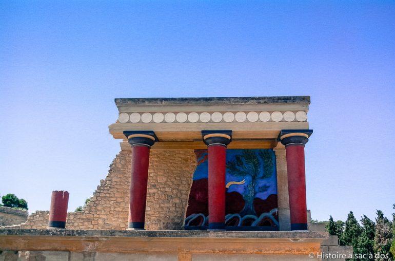 Photo du temple de Cnossos